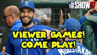 Viewer Games! Come play vs. Pepe Alazar! [MLB The Show 17 Diamond Dynasty]