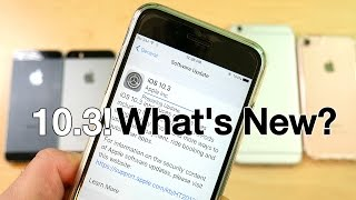 iOS 10.3 Released! - Whats New?