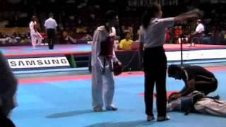 Taekwondo KO Australia v Iran