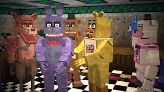 Minecraft: Five Night's at Freddy's Universe Mod Showcase!