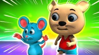 Meow Meow Billi Karti | म्याऊँ म्याऊँ | Hindi Poems | Hindi Nursery Rhymes | Kids Tv India