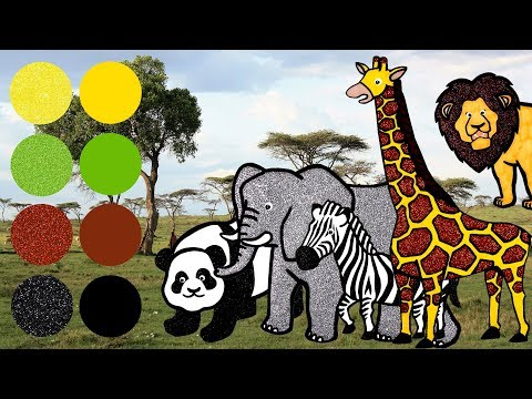 Xxx Mp4 Wild Zoo Animals For Kids Learn Names And Sounds Giraffe Elephant Lion Zebra Panda 3gp Sex