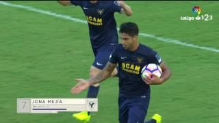 Resumen de UCAM Murcia vs Elche CF (1-1)