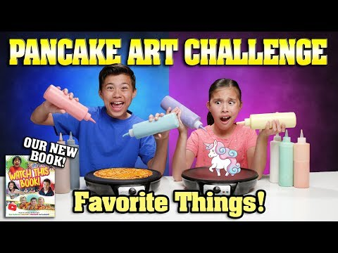 FAVORITE THINGS PANCAKE CHALLENGE Special Announcement Check Out Our NEW BOOK