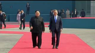 KIM JONG UN AND MOON JAE-IN MEET FOR INTER-KOREAN SUMMIT
