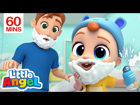 Daddy is My Hero My Daddy Song & More Little Angel Kid Songs