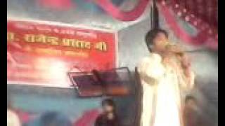 Manish kumar Stage show piya piya ratathe