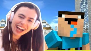TRY NOT TO LAUGH CHALLENGE!! - WEIRD MINECRAFT ANIMATIONS COMPILATION