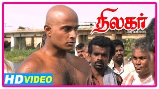 Thilagar Tamil Movie | Scenes | Dhruvva vows to kill Kishore's killers | Anumol