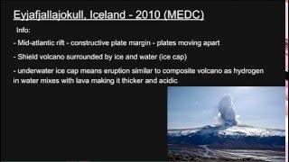A2 Geography Tectonics Part 2: Vulcanicity & Volcanic Case Stuides
