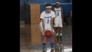 Newark Central@Irvington Girls Varsity Basketball 02-06-16 Essex County Varsity Tournament