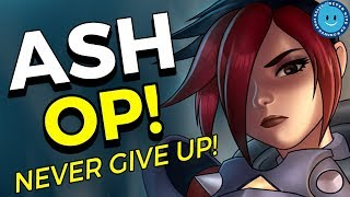 Paladins: Ash Ranked Gameplay and Super Knockback Loadout! Never Give Up On Your Ranked Games!
