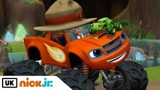 Blaze and the Monster Machines | Croaking Cave Frog | Nick Jr. UK