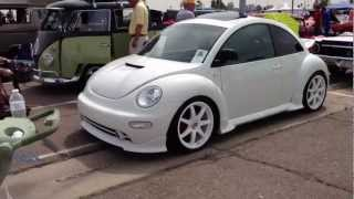 2000 Volkswagen New Beetle Customized, in Cool White