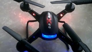 Holy Stone F181 1st FLIGHT REVIEW RC Quadcopter Drone with HD Camera