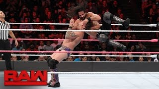 Seth Rollins vs. Chris Jericho: Raw, Oct. 10, 2016