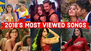 2018's Top 50 Most Viewed Indian/Bollywood Songs on YouTube