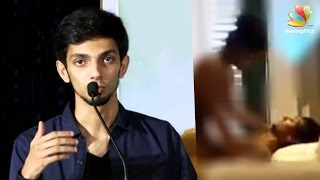 Anirudh Ravichander gives clarity on fake MMS video   Hot Tamil Cinema News   Controversial