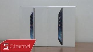 Schannel - Mở hộp iPad mini 2: Màn hình retina, chip A7, thiết kế quen thuộc - CellphoneS