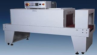 Manually Shrink Wrapping semi auto Sleeve shrinking packing machines for plastic cosmeic pencils
