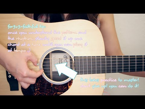 """""""All of Me"""" - John Legend EASY Guitar TutorialChords & GIVEAWAY! [CLOSED]"""