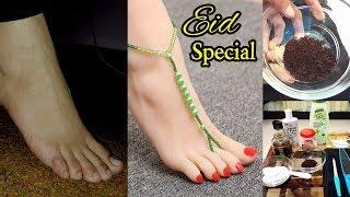 Pedicure at Home Live Demo Feet Whitening Spa & Tan Removal Urdu Hindi