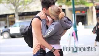 Kissing Prank -  Trick Question