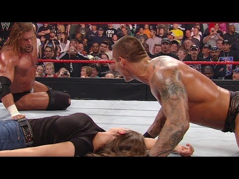 Xxx Mp4 Randy Orton Makes It Personal With Triple H 3gp Sex