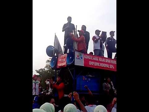 Demo Buruh Monas 2 Orasi kemarahan Bung Said Ikbal