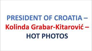 HOT LATEST BIKINI BEACH PHOTOS OF THE CROATIAN PRESIDENT - Kolinda Grabar-Kitarović