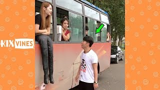 Funny Videos 2018 ✦ Funny Pranks Try Not To Laugh Challenge P48