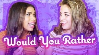 WOULD YOU RATHER w Teala Dunn | Baby Ariel