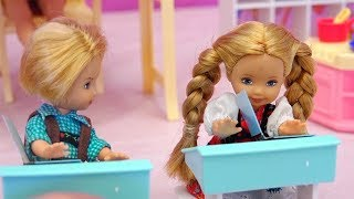 Barbie School Toy Set with Tommy and Kelly - The Boys and Girls Don't Want to Be Bobby's Friends