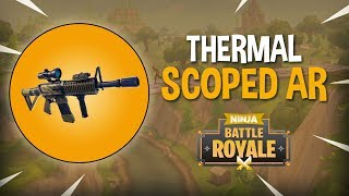 New Thermal Scoped AR!! - Fortnite Battle Royale Gameplay - Ninja