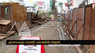 Cracks found in Ernakulam south bridge