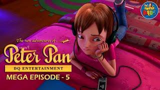 Peter Pan ᴴᴰ [Latest Version] - Mega Episode [5] - Animated Cartoon Show For Kids