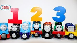 THOMAS AND FRIENDS THE GREAT RACE Take N Play Learn to Count 1-10  Best Learning Video for Kids