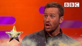 Why Armie Hammer made his wife CRY at Christmas 😲 - BBC