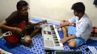 Dukkho Bilash(Artcell) Keyboard and Guitar cover By Durjoy & Nadeem