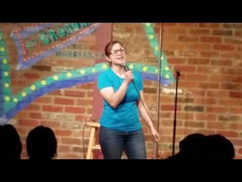 Melissa Eslinger at Comedy Off Broadway
