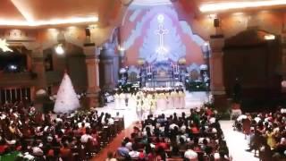 TRANSEAMUS - Koor Paroki St.Yoseph Denpasar, Misa Malam Natal 2016 di Gereja Katolik YGB Dps
