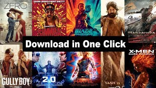Best New Website For Downloading Bollywood | Hollywood & South Indian Movies 2019