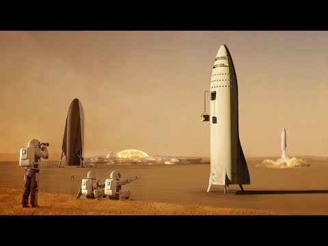 What will SpaceX do when they get to Mars