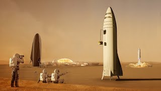 What will SpaceX do when they get to Mars?