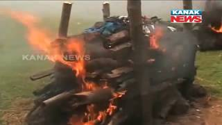Last Rites Of Sambalpur Accident Victims Performed In Their Village