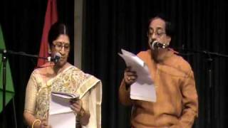 Sruti Natok (Part 1) by Jagannath & Urmimala Basu - Antorik Dallas Bijoya 2009