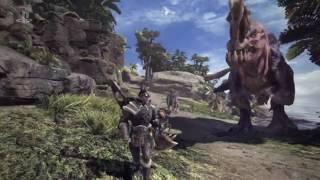 「モンスターハンター ワールド」PS4独占 E3 2017 トレイラー