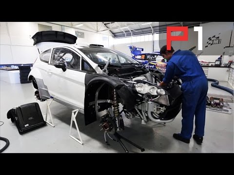 How to make a WRC car behind the scenes at M Sport