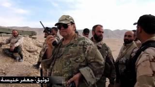 Syria, Palmyra, Syrian Arab Army Desert Falcons on the way to Liberate Palmyra Triangle.