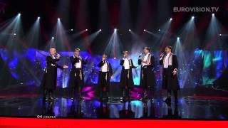 Klapa s mora - Mižerja (Croatia) - LIVE - 2013 Semi-Final (1)